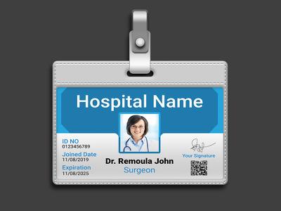 Design an identity card or edit any id card