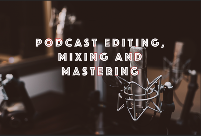 Edit and clean up your audio to make it broadcast/podcast ready