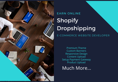 Create high converting shopify website store