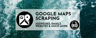 Scrape business leads from Google Maps