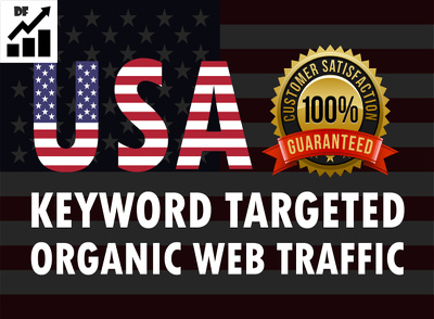 Send keyword target organic website traffic from USA,