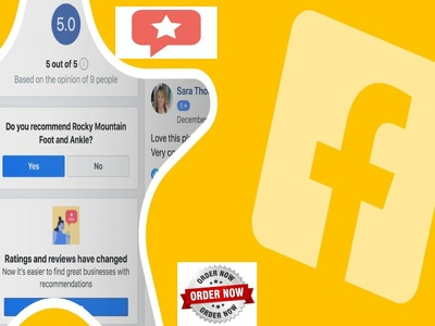 Promote your Facebook page with 5 reviews and recommendations