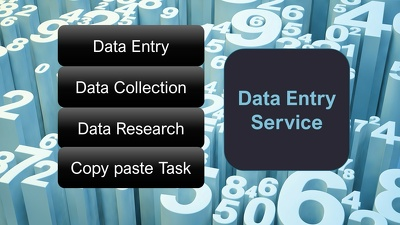 Do all data works (data entry, gather, cleaning)