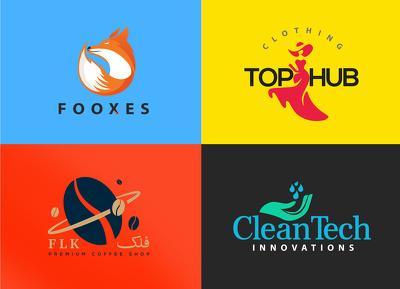 Design minimalist, modern style logo - 3 concepts high quality