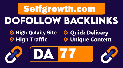 Guest Post On Selfgrowth.com  With Quality Dofollow LInk
