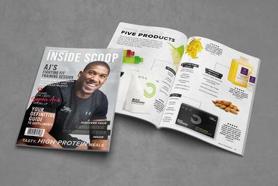 Design a digital or printed publication
