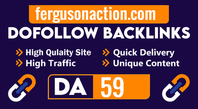 Guest Posting On fergusonaction.com With DoFollow Backlink