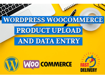 Upload woocommerce product and wordpress data entry