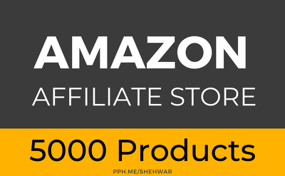 ✅  Amazon Affiliate Website with 5000 Products using WordPress