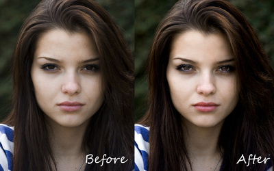 Retouch/edit your photo professionally