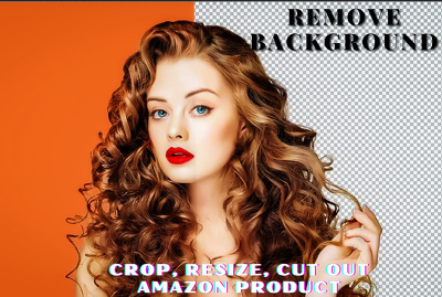 Background remove, crop, resize, cut out 10 photos in 2 hours