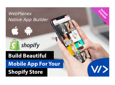 Give You beautifull IOS/Android application for Shopify Store