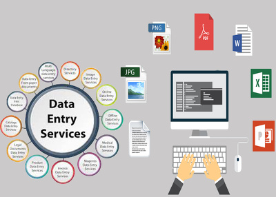 Do any type of data entry work for 1 hour