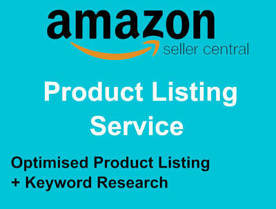 List/Create 1 Product to Amazon Optimised + Keyworded