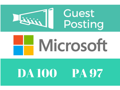 Guest Post Published On Microsoft, Microsoft.com DA 100