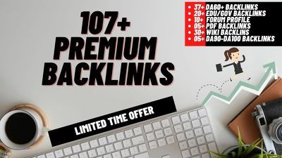 DA90+ 20 Edu/Gov, 30 Wiki, 10 Forum, 05 PDF, 37 DA60+ backlinks