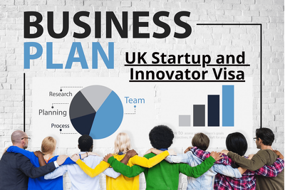 Write a business plan for the UK Innovator & Startup Visa