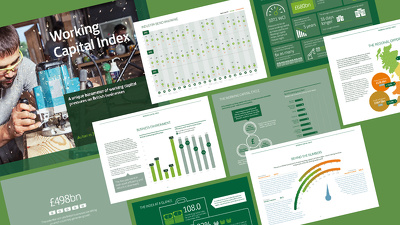Design a mind-blowing infographic ebook / whitepaper / brochure
