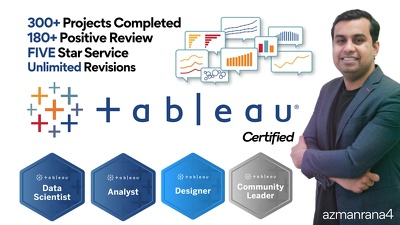 Create stunning tableau dashboard & report