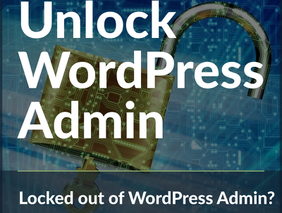 Restore WordPress admin functions when locked out