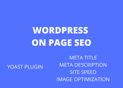 Do On-Page SEO optimization of WordPress site for better ranking