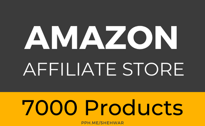 ✅  Amazon Affiliate Website with 7000 Products using Wordpress