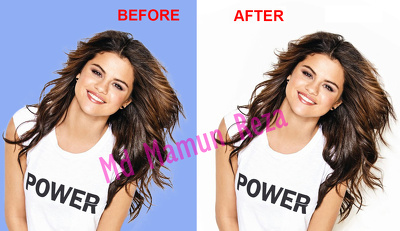 Remove background, Clipping path or Cut out 20 images