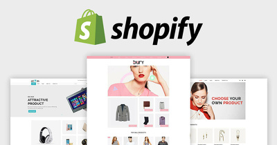 Shopify Store Set Up - All you need to start selling