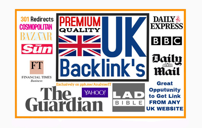 get UK Backlink from Guardian, FT,BBC UK,Sun or Any Top UK Sites