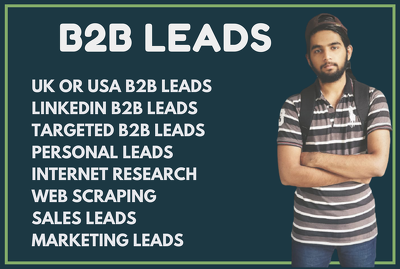 Do b2b linkedin leads generation and make targeted email list