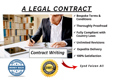 Draw up a bespoke Legal Contract for you
