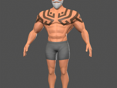 3D Model Texture and Rig Characters for Games.
