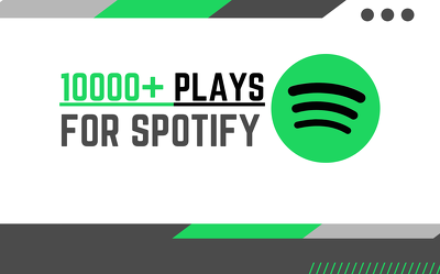 Add more than 10000+ plays to your song on Spotify