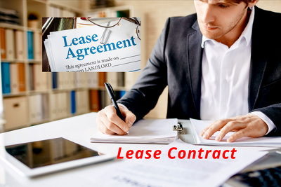 Draft up a Lease Contract for you