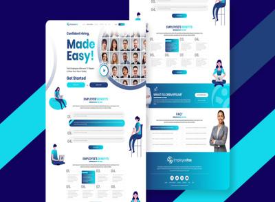 Do a professional UI UX design for web