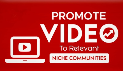 Do Your Niche Related YouTube Promotion