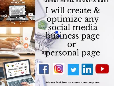 Create & Grow your social media accounts for 2021