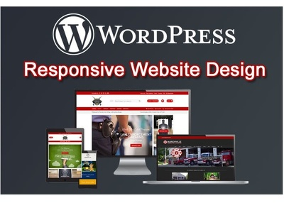 Create a WordPress landing page design  for you
