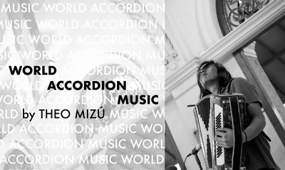 Record/compose real accordion lines for your tracks