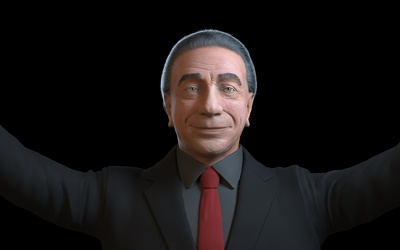 Make 3d  model realistic and stylized