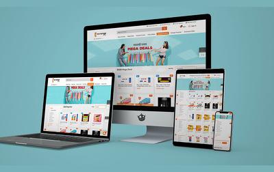 Design & Develop Responsive Website ** Hosting Included **