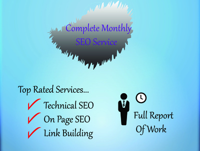Complete Monthly SEO Service plan for Top Google Ranking