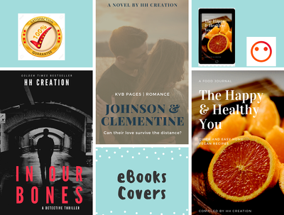 Create professional and high quality eBook covers