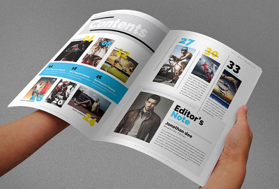 Design your magazine or book cover