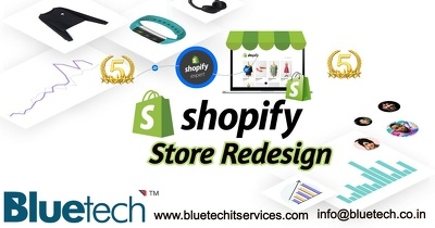 Shopify store redesign