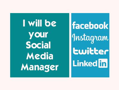 Manage your social media, LinkedIn, twitter, fb, IG marketing
