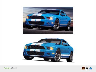 Create an amazing vehicle illustration