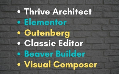 Format 5 blog posts in Thrive Architect Page Builder