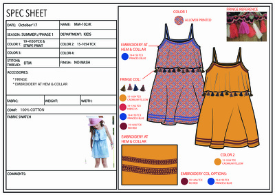 Design your kidswear/babywear collection