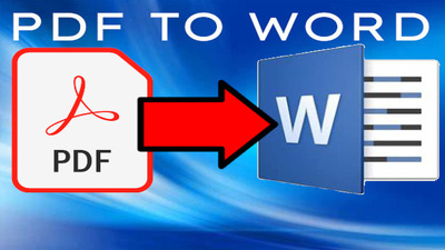 Convert 50 pages pdf to word